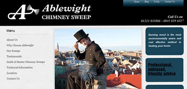 ablewight cambridge chimney sweep