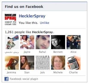 Hecklerspray Screenshot