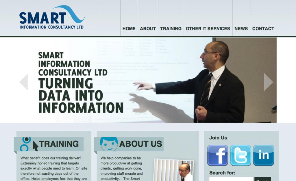 Smart Information Consultancy Screenshot