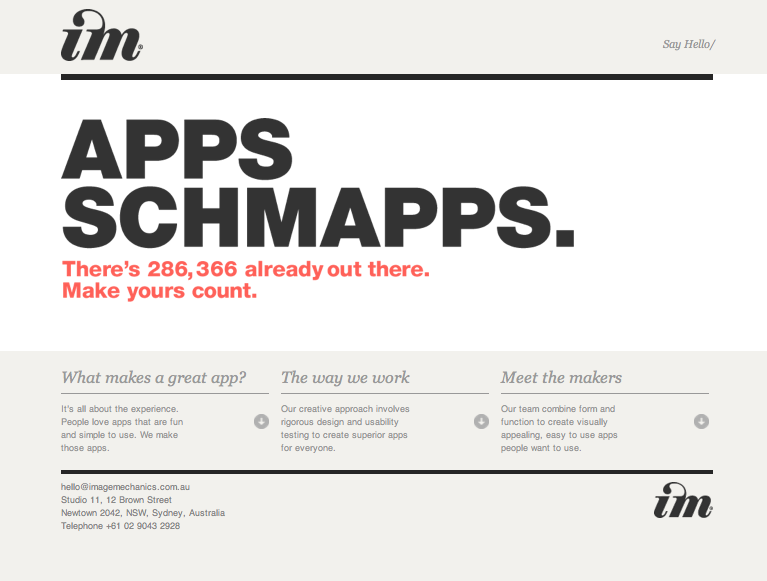 Apps Schmapps Screenshot