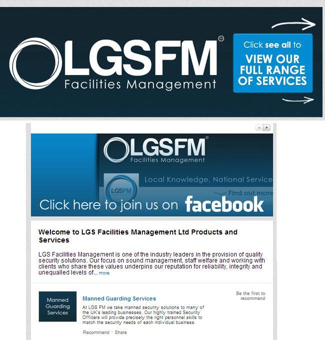 linkedin page design