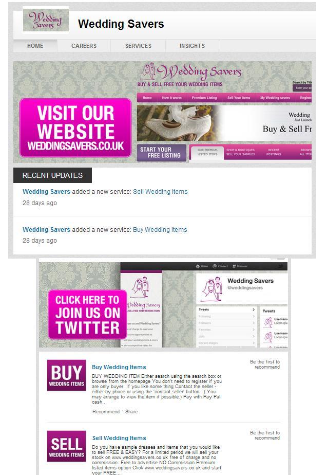 linkedin company page design