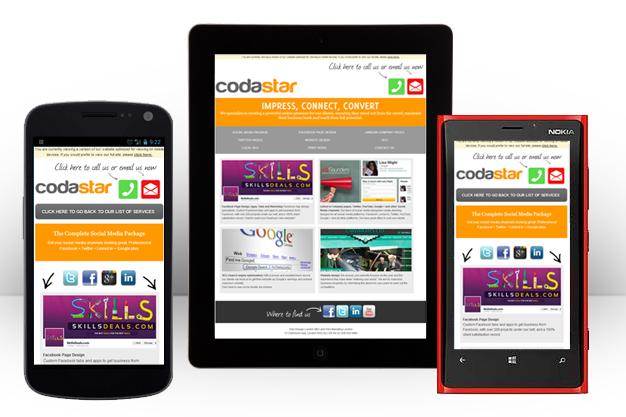 5 Top Tips For Your Mobile Website Design Codastar Ltd