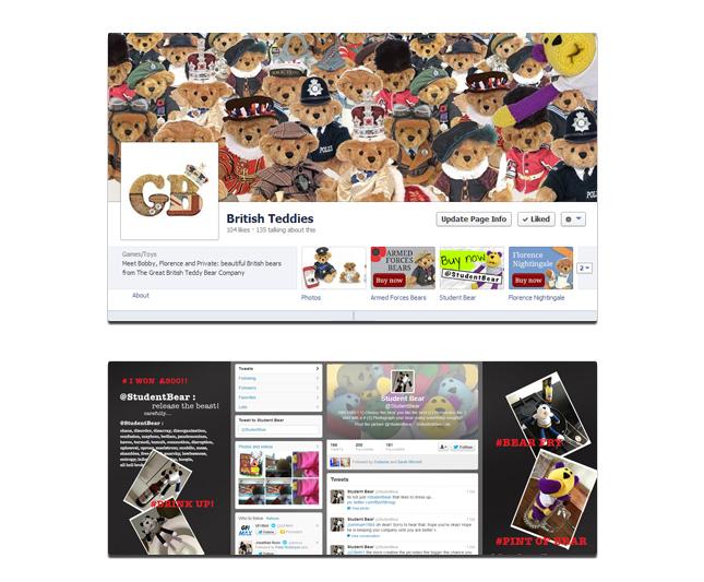 Great British Bear Company Social Media Package