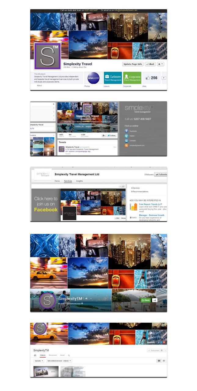 simplexity travel social media package