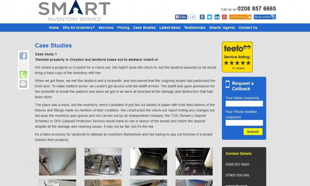 Smart Inventory Website Design Case Studies