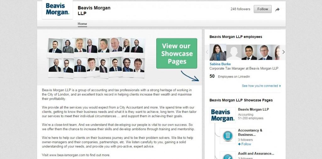 LinkedIn Business Page Design Codastar