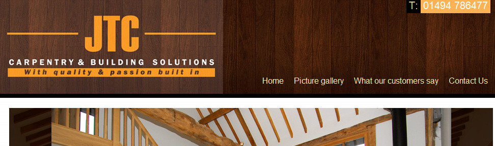 Codastar web design London joinery