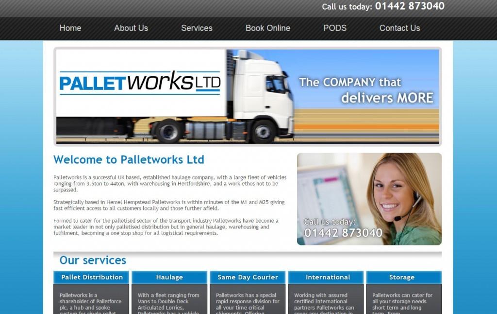 Codastar Website Design Palletworks Pallet Storage